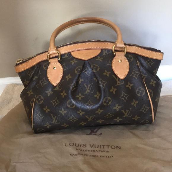 23a0eca7b0c Louis Vuitton Handbags - Louis Vuitton Authentic Monogram Tivoli PM Satchel